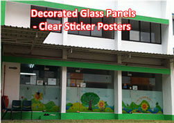 Clear Sticker Poster 02