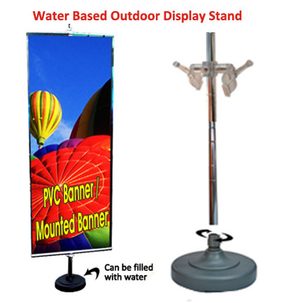 Water Base Outdoor Banner Stand